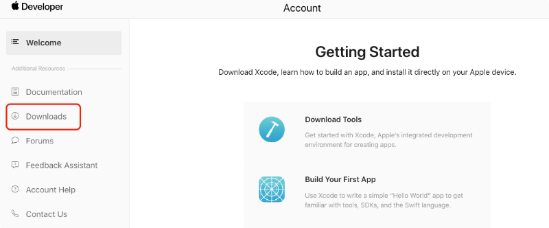 Go to Download Profile