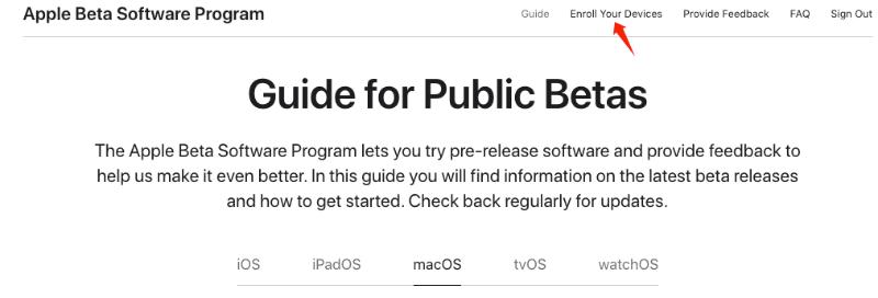 Enroll Your Mac