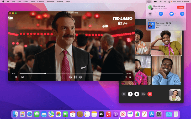 macOS Monterey Feature - FaceTime and SharePlay