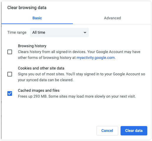 How to Clear Chrome Cache on Mac