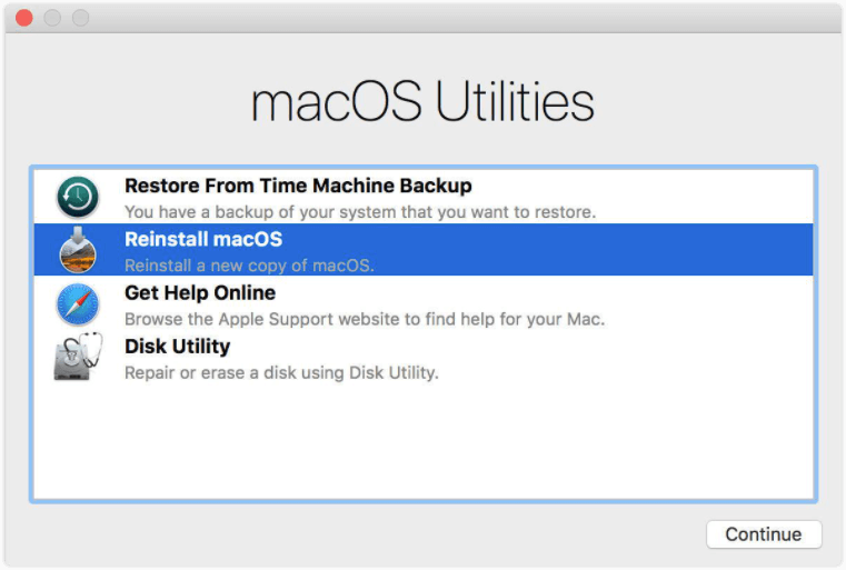 Reinstall macOS That Came with Your Mac