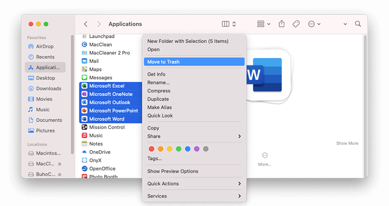 How to Uninstall Office Apps Manually